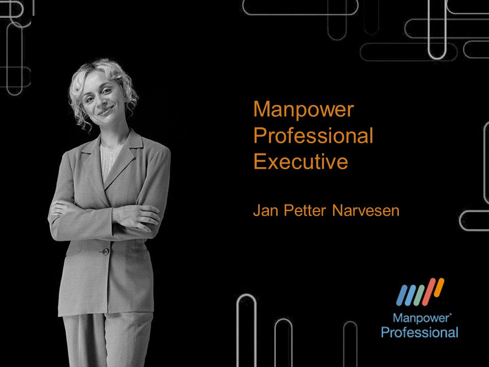 Manpower Professional Executive Jan Petter Narvesen
