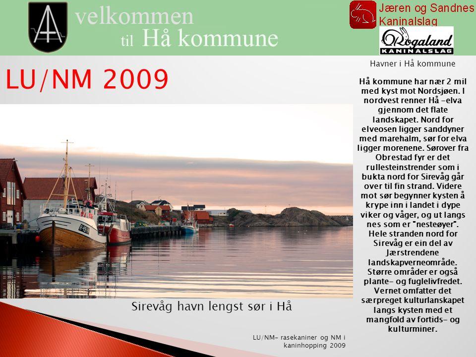 Sirevåg havn lengst sør i Hå Havner i Hå kommune Hå kommune har nær 2 mil med kyst mot Nordsjøen.