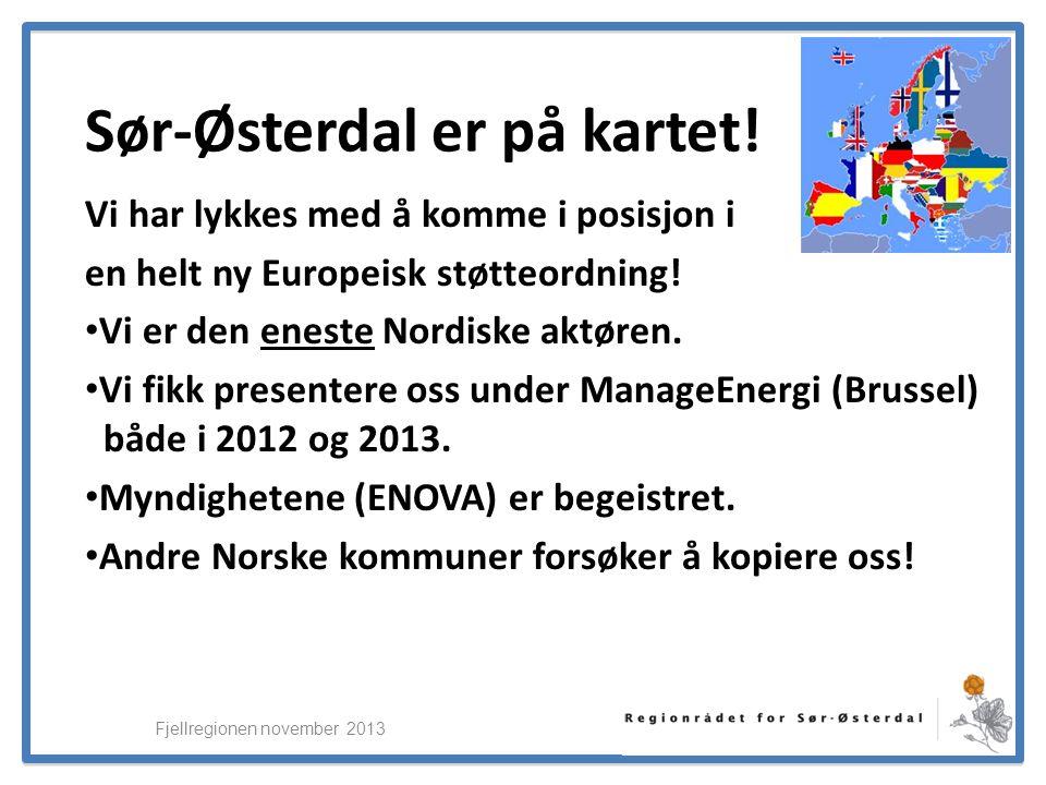 ElverumRegionens NæringsUtvikling Sør-Østerdal er på kartet.