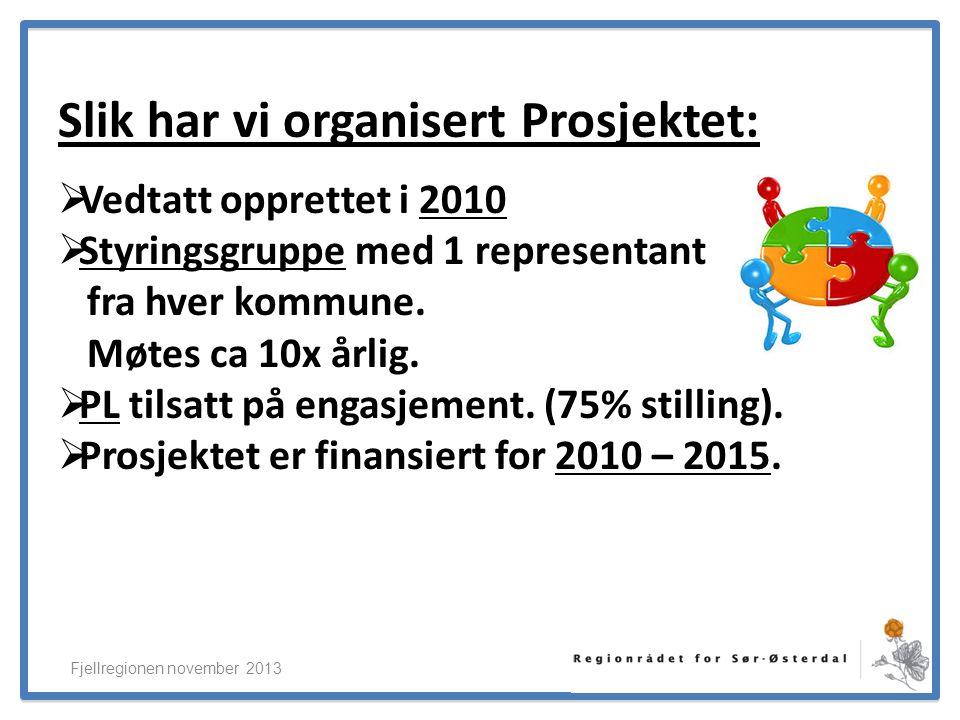 ElverumRegionens NæringsUtvikling Vi står foran betydelige investeringer: Fjellregionen november 2013  Nybygg og større oppgradering etter TEK10  Oppgradering av resten av bygningsmassen med >20% energireduksjon.
