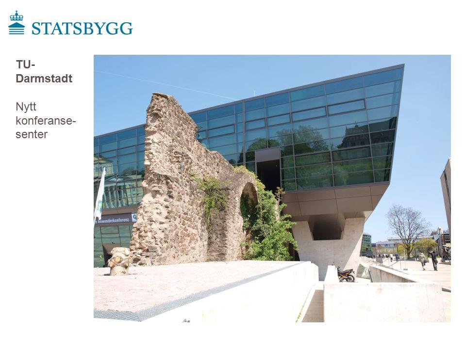 TU- Darmstadt Nytt konferanse- senter