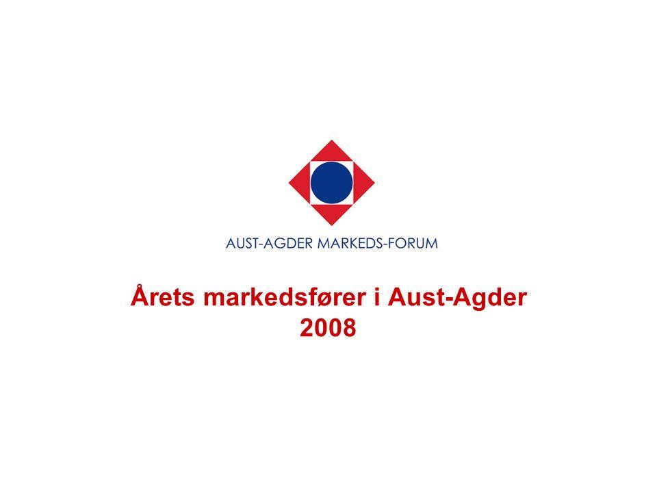 Årets markedsfører i Aust-Agder 2008