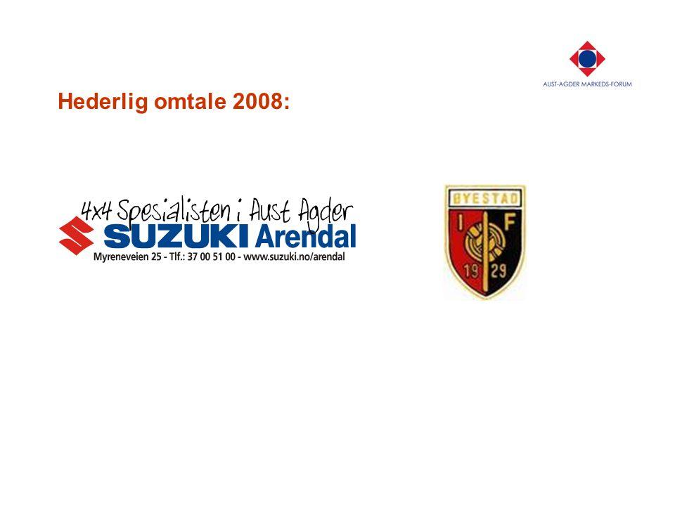 Hederlig omtale 2008: