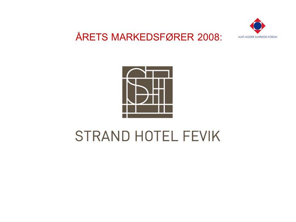 ÅRETS MARKEDSFØRER 2008: