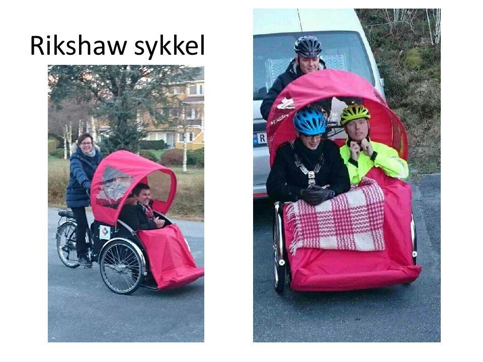 Rikshaw sykkel