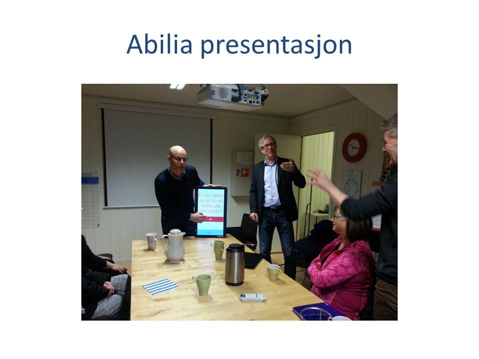Abilia presentasjon