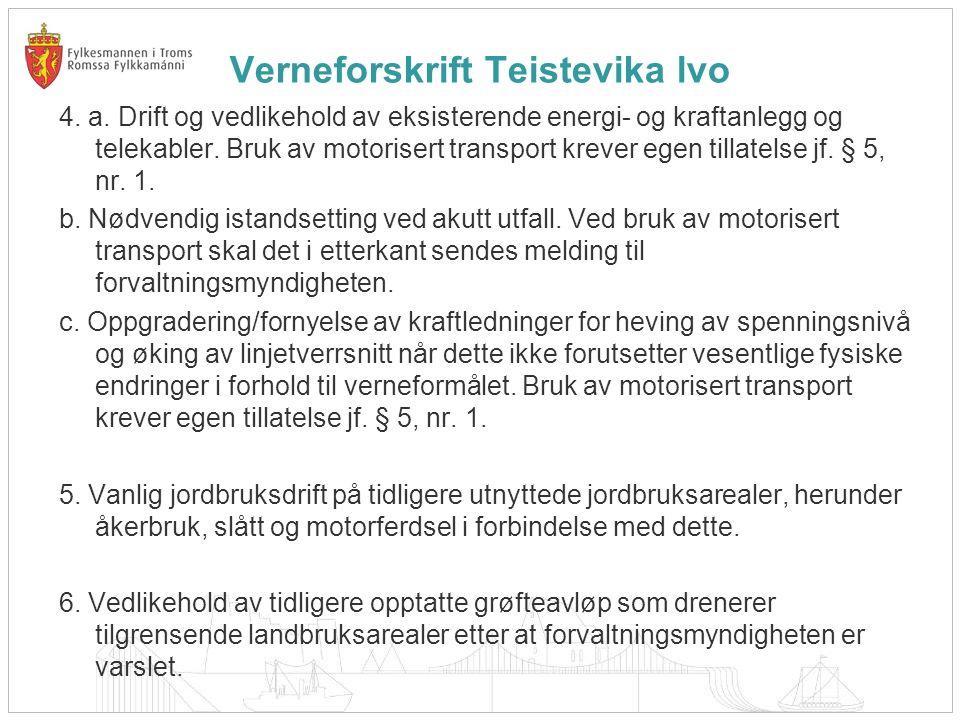 Verneforskrift Teistevika lvo 4. a.