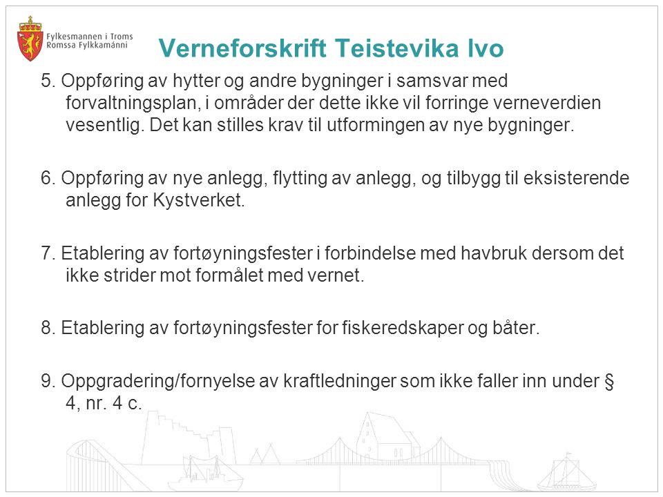 Verneforskrift Teistevika lvo 5.