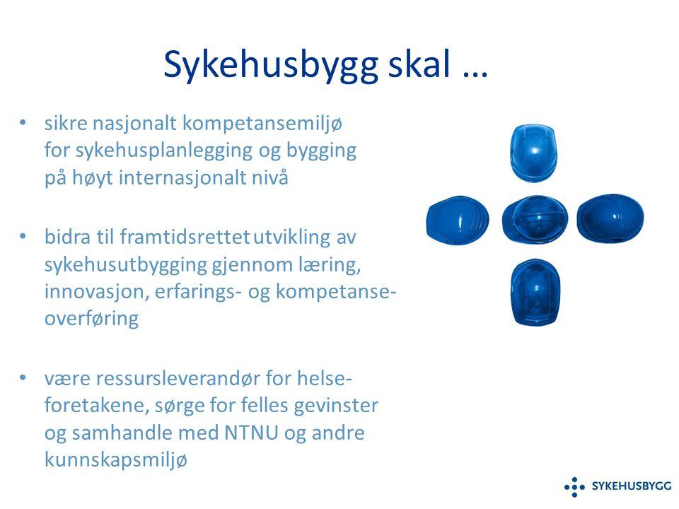 Eierskap og styring Eiere: De fire helseregionene.