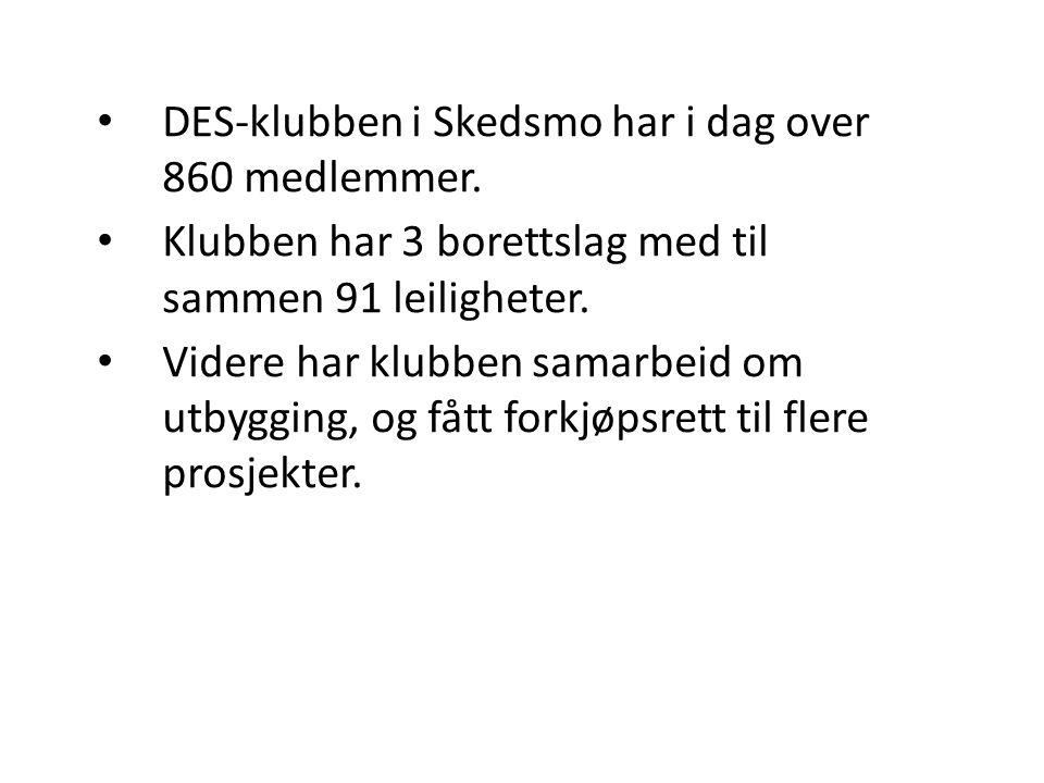 DES-klubben i Skedsmo har i dag over 860 medlemmer.