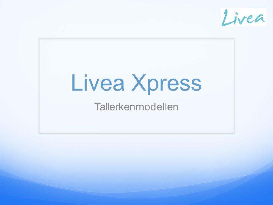 Livea Xpress Tallerkenmodellen