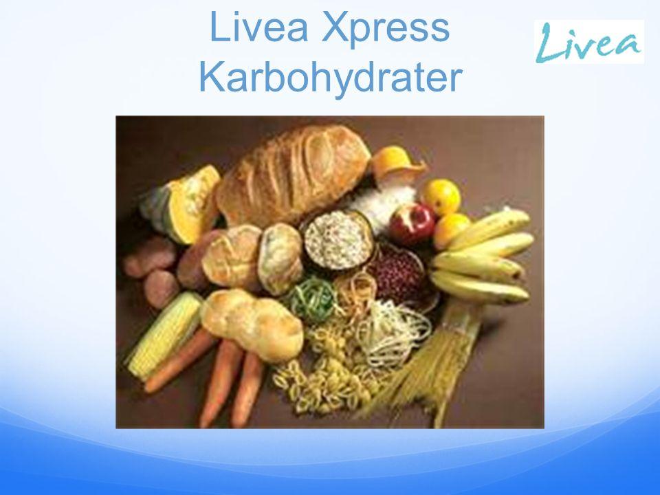 Livea Xpress Karbohydrater