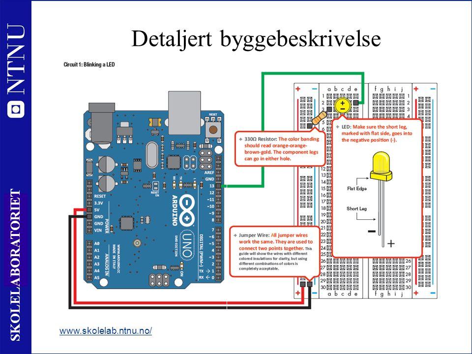 21 SKOLELABORATORIET Detaljert byggebeskrivelse www.skolelab.ntnu.no/