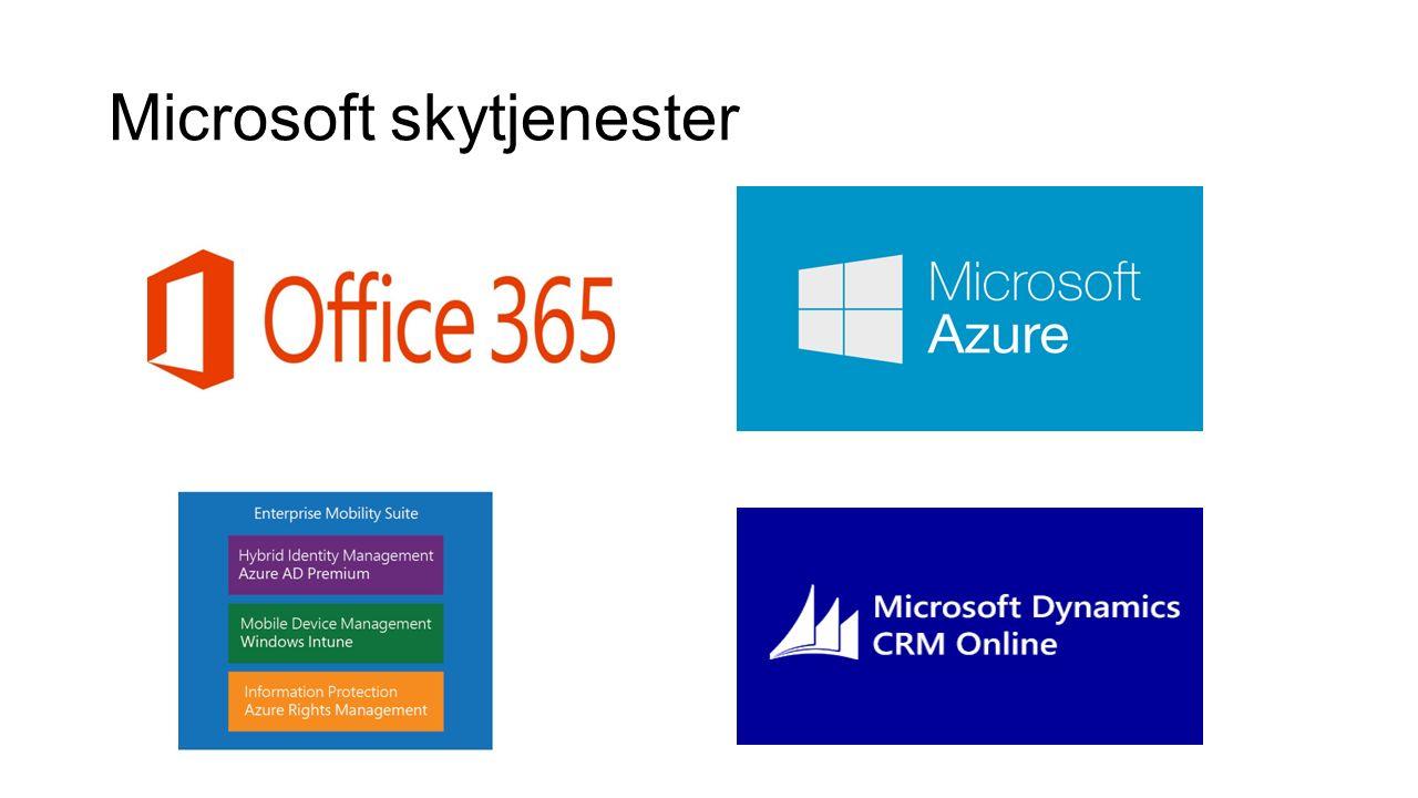 Microsoft skytjenester