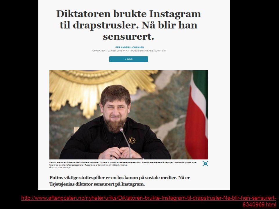 http://www.aftenposten.no/nyheter/uriks/Diktatoren-brukte-Instagram-til-drapstrusler-Na-blir-han-sensurert- 8340969.html