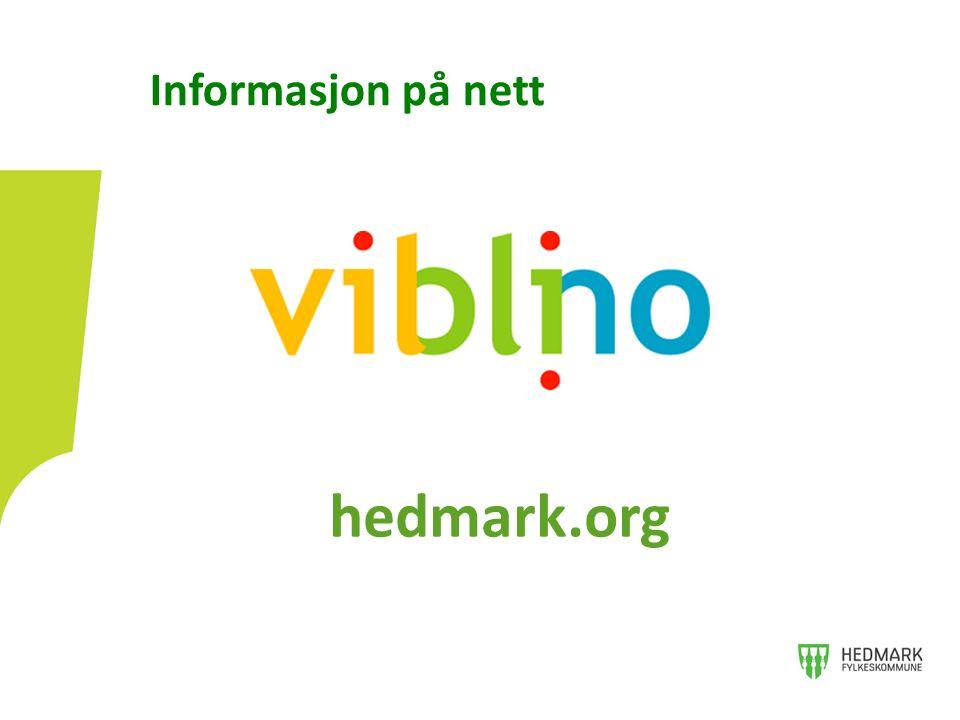 Informasjon på nett hedmark.org