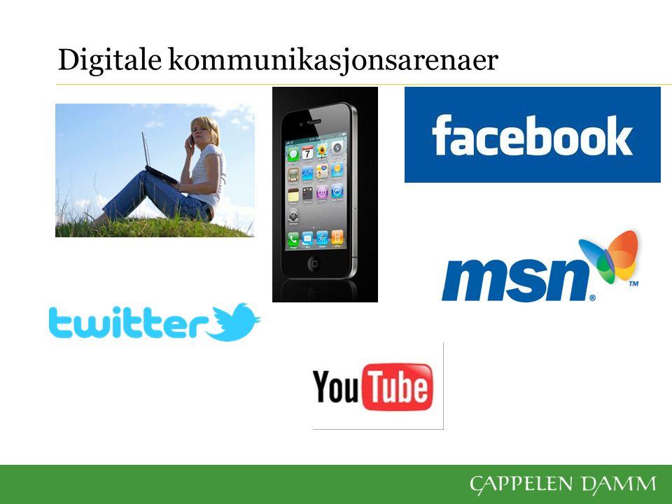 Digitale kommunikasjonsarenaer