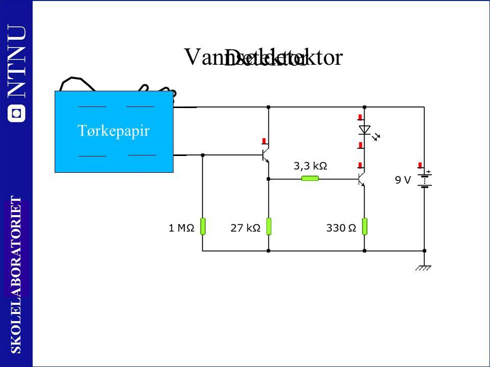 42 SKOLELABORATORIET Detektor Tørkepapir Vannsøldetektor