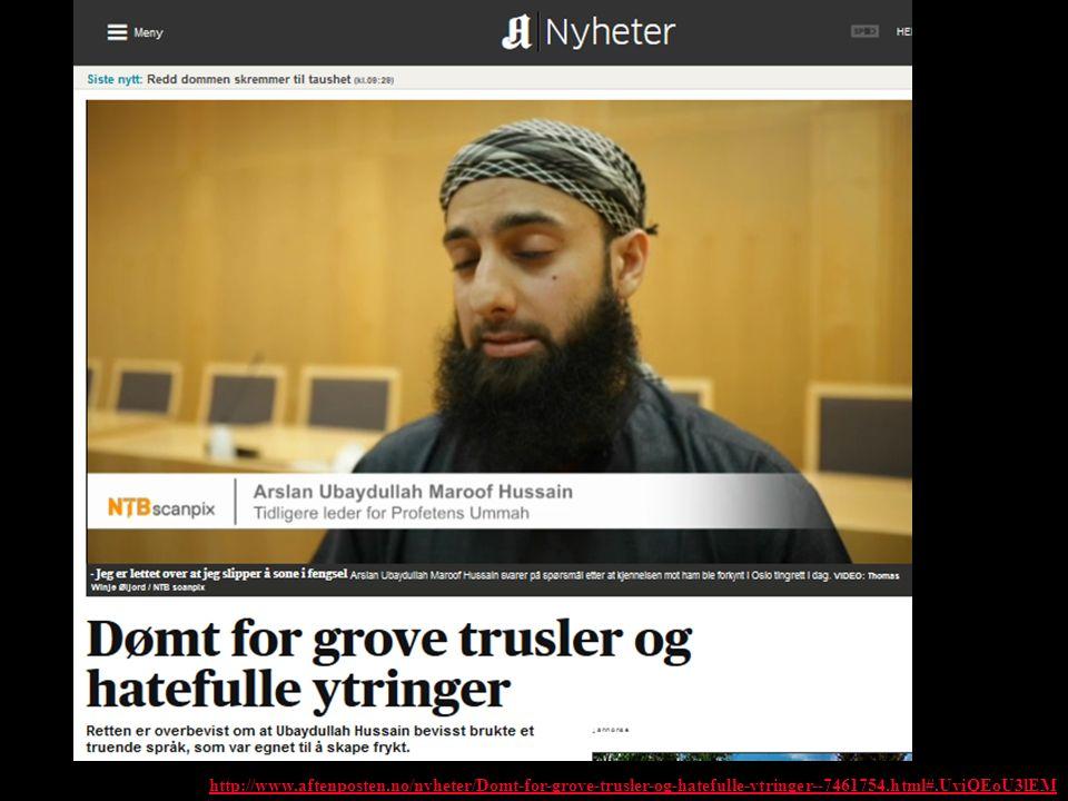 http://www.aftenposten.no/nyheter/Domt-for-grove-trusler-og-hatefulle-ytringer--7461754.html#.UviQEoU3lEM