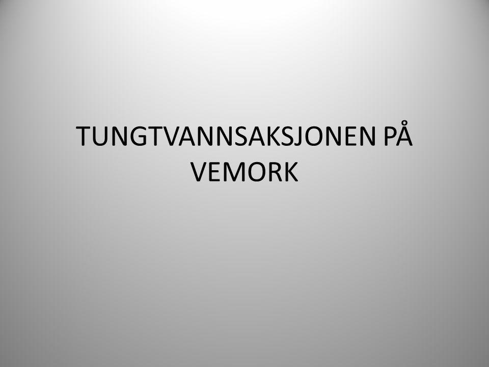 TUNGTVANNSAKSJONEN PÅ VEMORK