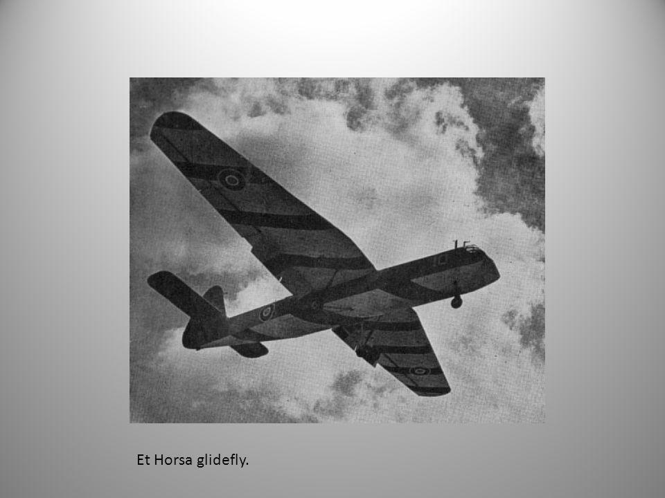 Et Horsa glidefly.