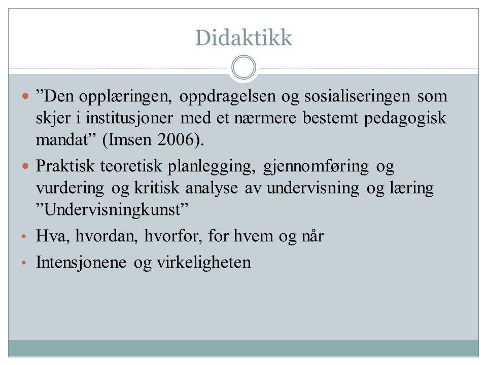 Litteratur: Lillejord, S., Manger, T., Nordahl, T.