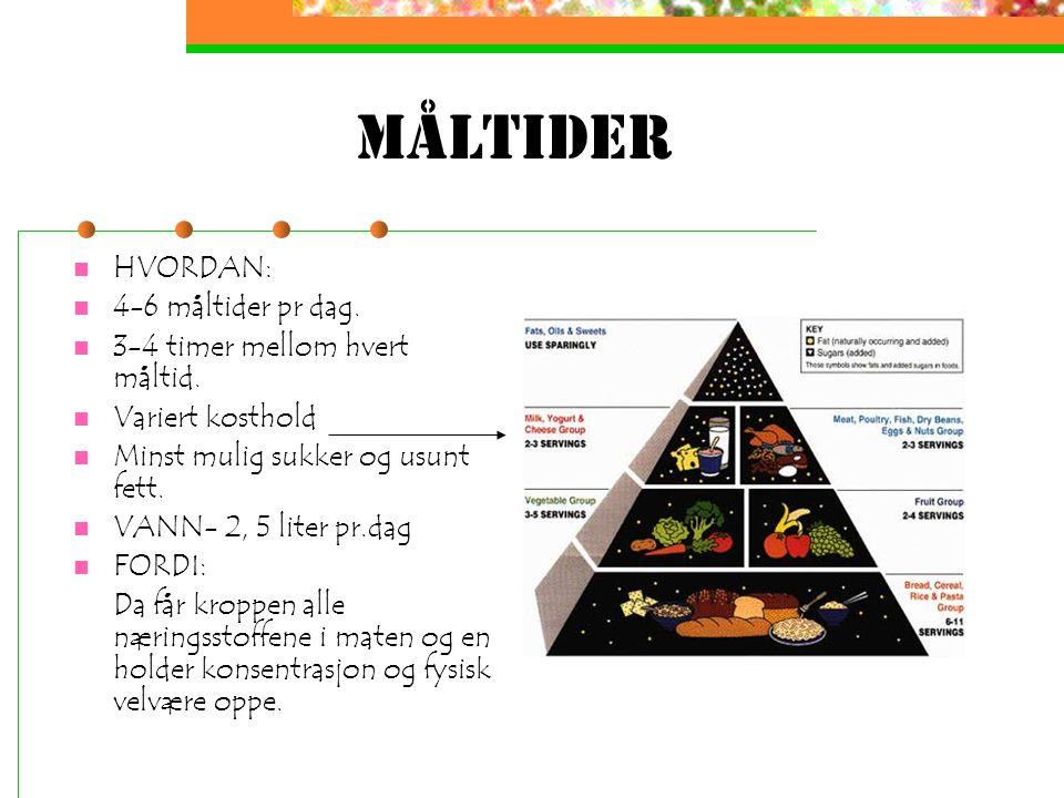 Teori mat&helse 1 Emne: Mat og livsstil