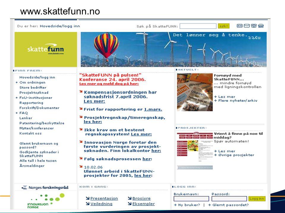 www.skattefunn.no