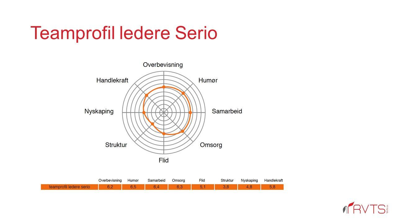 Teamprofil ledere Serio