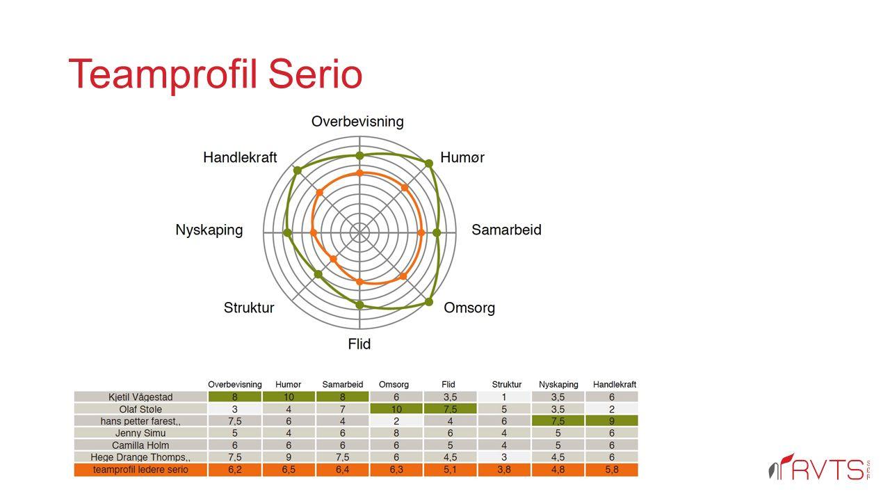 Teamprofil Serio