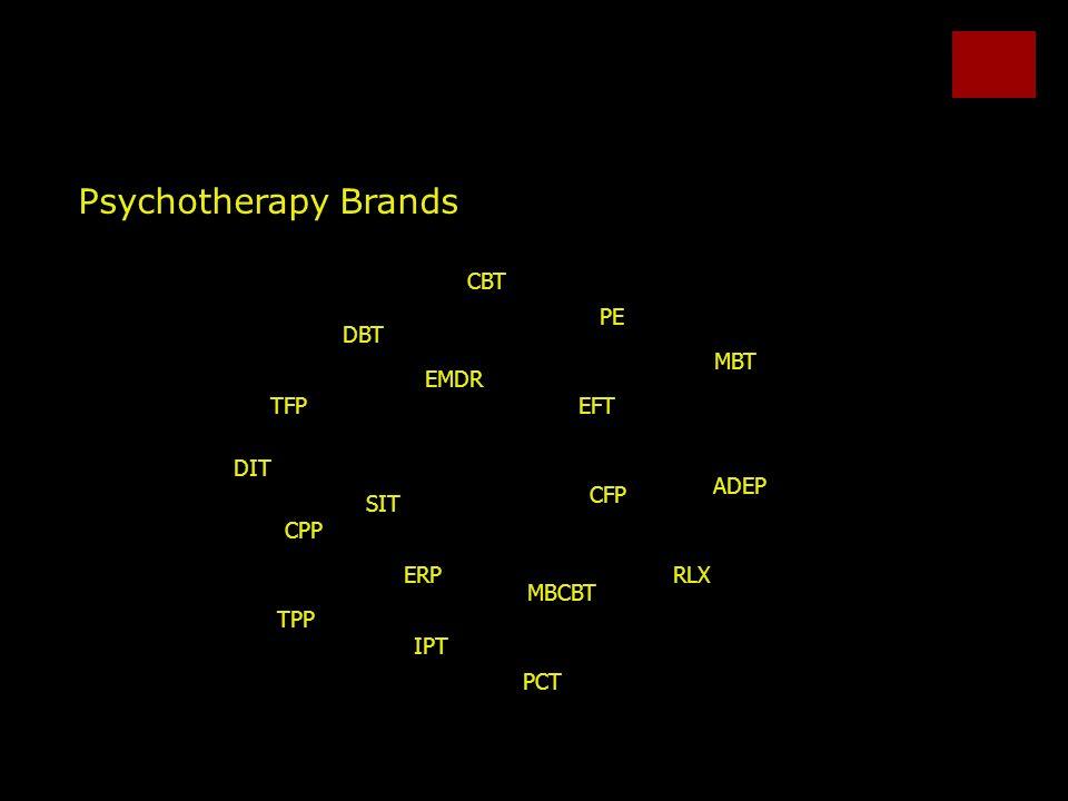 Psychotherapy Brands CPP ADEP TPP TFP MBT DBT CBT IPT CFP DIT SIT EMDR MBCBT EFT ERPRLX PE PCT