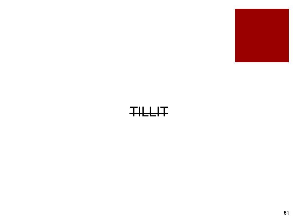 TILLIT 51