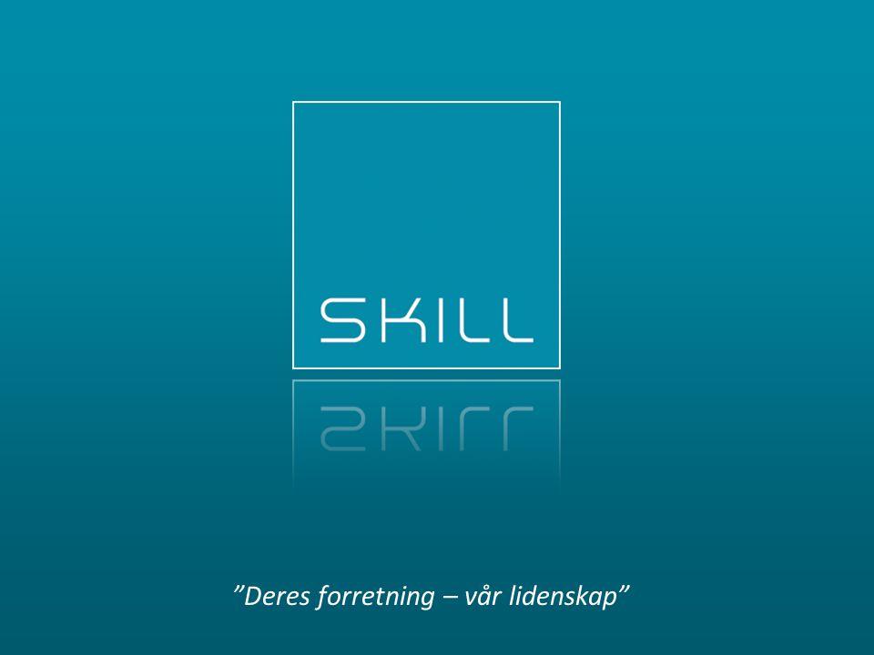 Skill AS | www.skill.no | www.samhandle.no Opp fra bakken – inn i skya + Microsoft CRM 2011 Online SkillOpen 2011