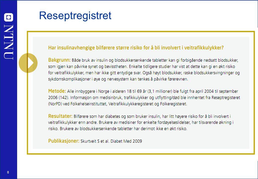 8 Reseptregistret