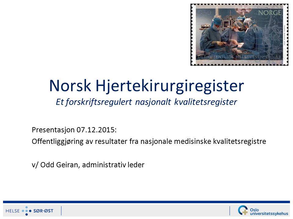 Presentasjonen omfatter: Historikk og nye muligheter Demografiske data Trender mht.