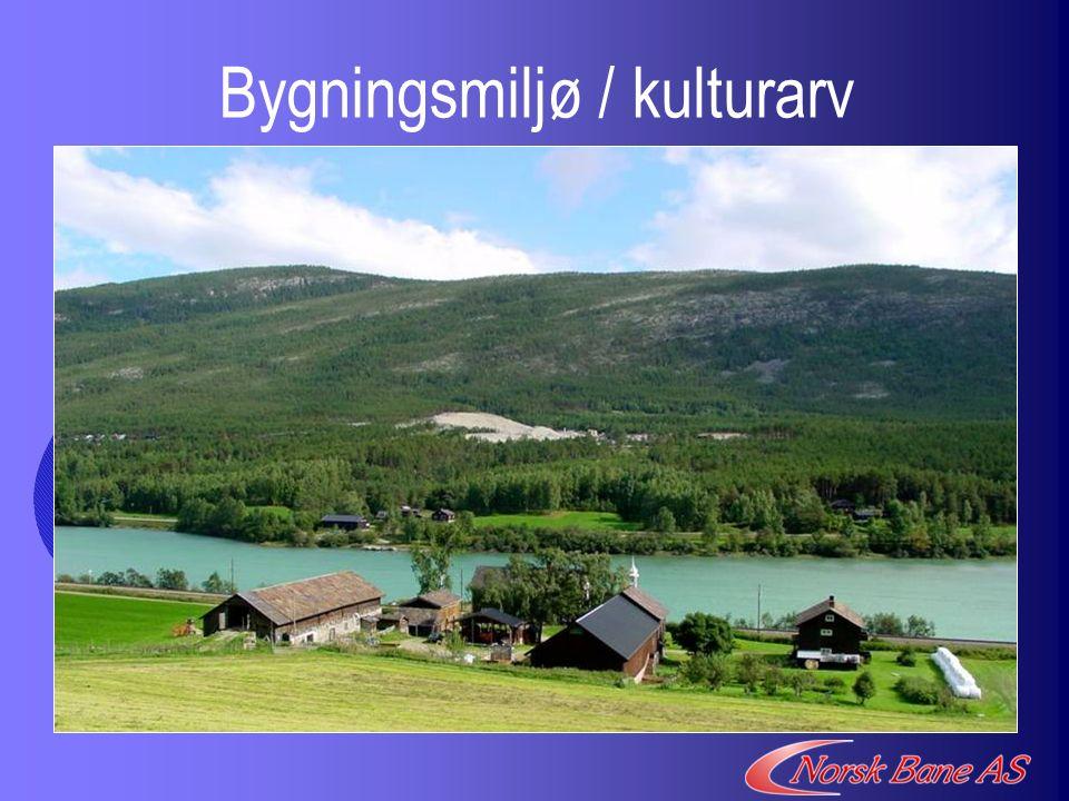 Bygningsmiljø / kulturarv