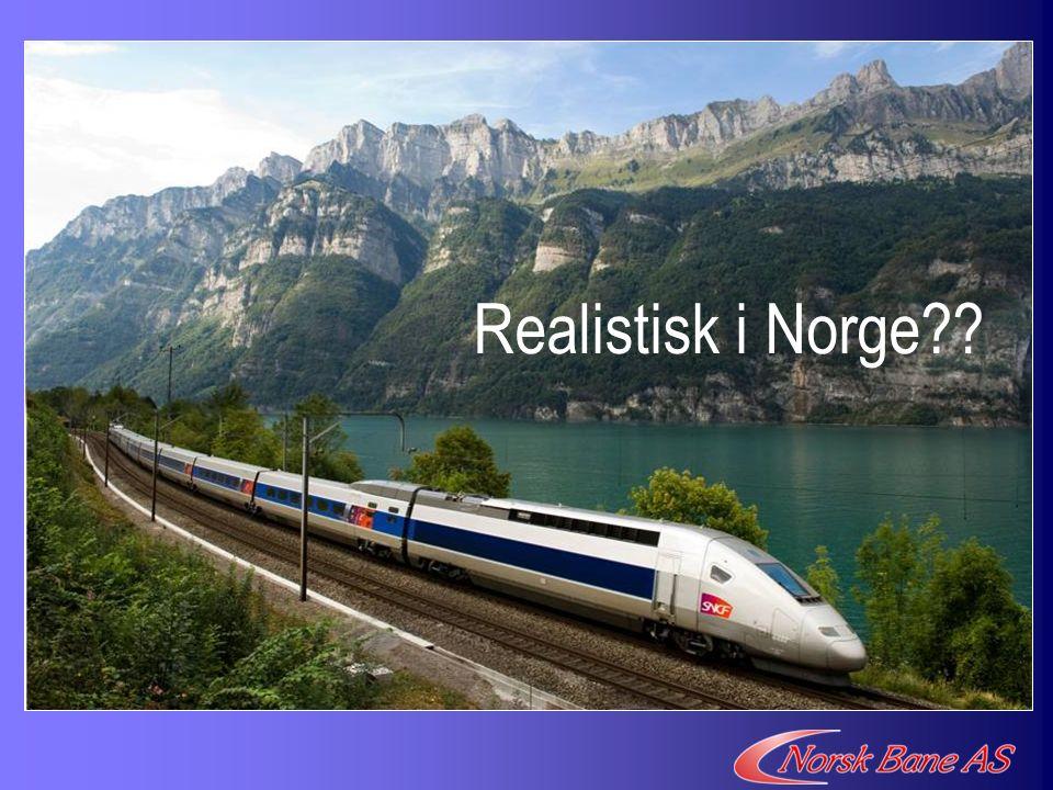 Realistisk i Norge??