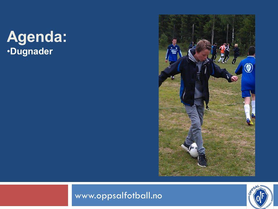 www.oppsalfotball.no Agenda: Dugnader