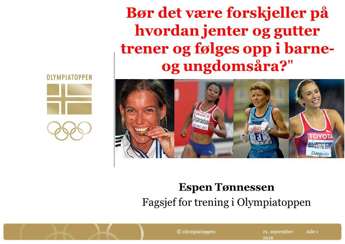 Utvikling fra 11 års alder til senior i ulike friidrettsgrener (kvinner) – gjennomsnittet av de 100 beste senior utøverne gjennom tidene 21.