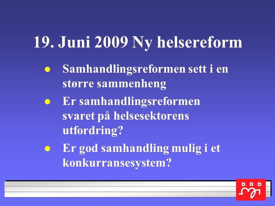 SAMMENLIGNET MED ANDRE NORDISKE LAND ER VÅRE HELSEUTGIFTER HELT NORMALE I 2007 SLIK OECD MÅLER HELSEUTG.