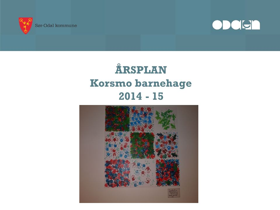 ÅRSPLAN Korsmo barnehage 2014 - 15