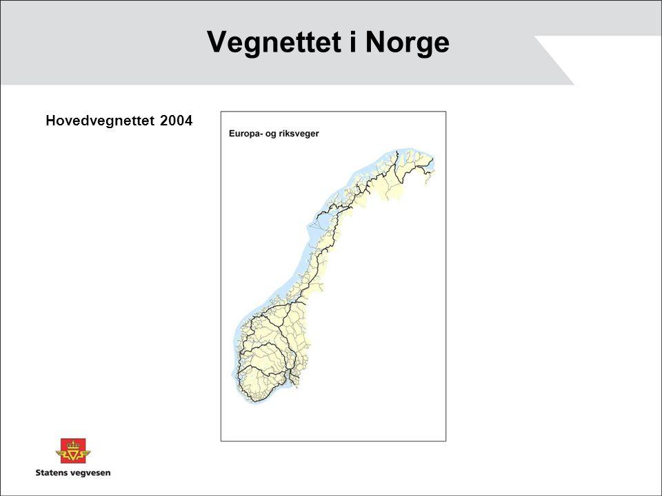 Vegnettet i Norge Hovedvegnettet 2004