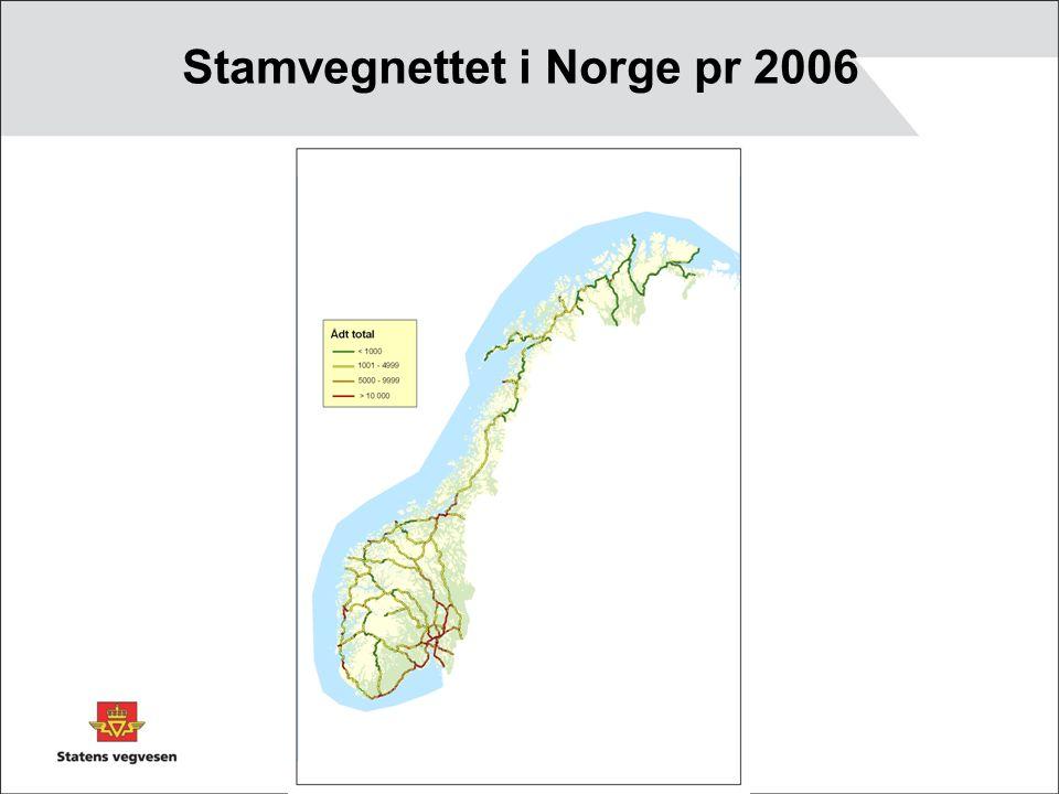Stamvegnettet i Norge pr 2006