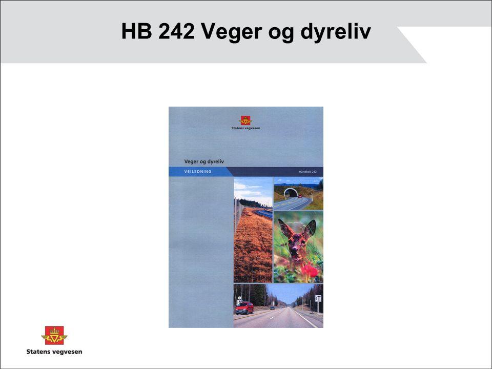 HB 242 Veger og dyreliv