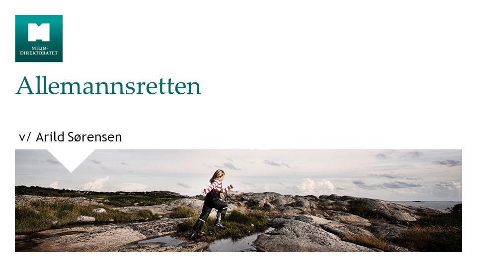 Allemannsretten v/ Arild Sørensen