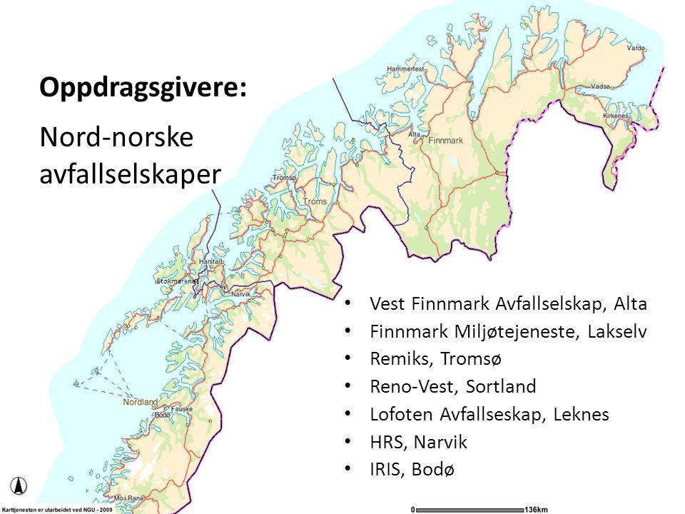 Søppelberget vokser Norge 1950: 25 kg pr person 2007: 430 kg pr person (2 mill tonn årlig) Nord Norge Deponi: 145 000 tonn Gjenvinning: 131 000 tonn Våtorganisk: 37 000 tonn