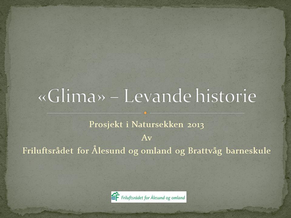 Prosjekt i Natursekken 2013 Av Friluftsrådet for Ålesund og omland og Brattvåg barneskule