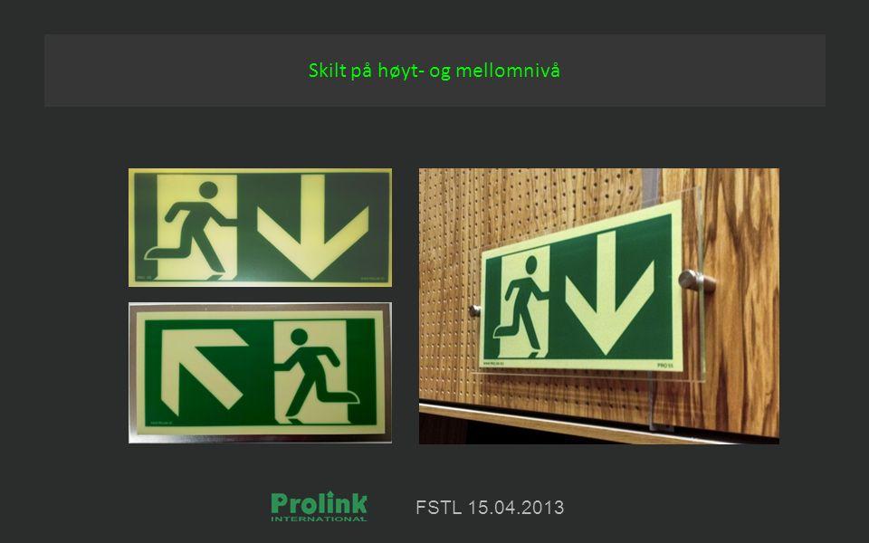 FSTL 15.04.2013 Skilt på høyt- og mellomnivå