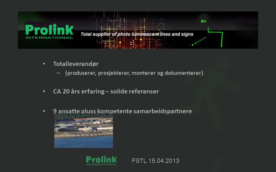 FSTL 15.04.2013 Tekniske anlegg
