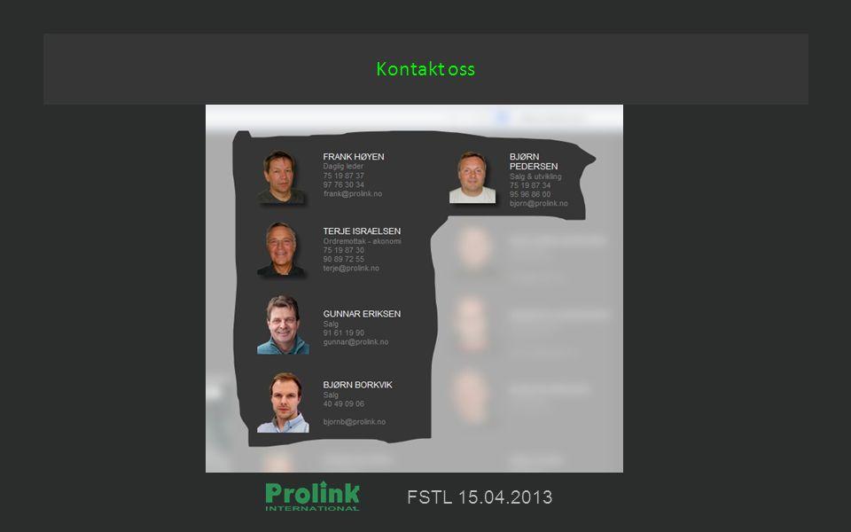 FSTL 15.04.2013 Kontakt oss